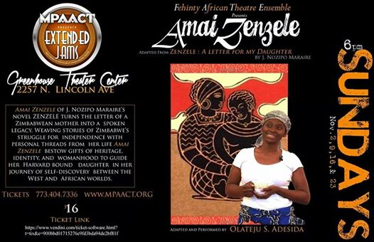 NOW SHOWING: Amai Zenzele, An Intimate Story About the African Woman