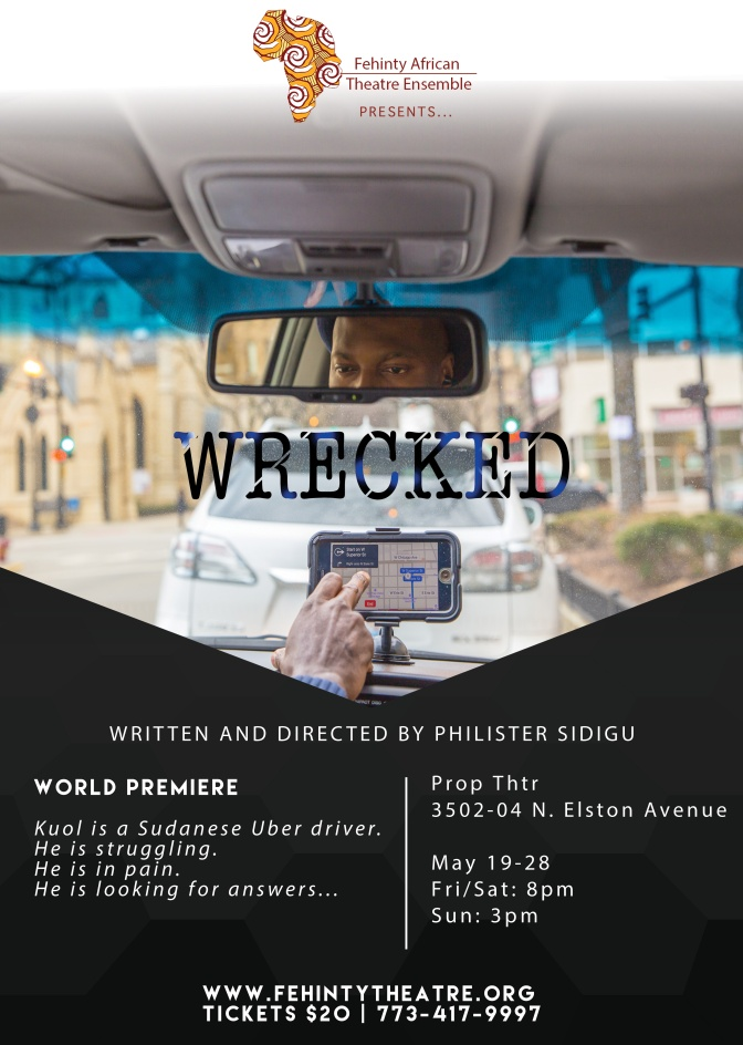 FATE Presents World Premiere of  WRECKED By Philister Sidigu